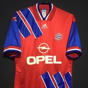 1993-95 Bayern Munich Home Shirt All sizes By Adid